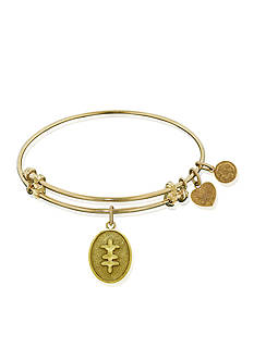 Angelica Strength and Bravery Expandable Bangle