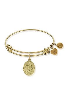 Angelica V Initial Expandable Bangle