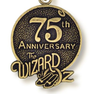 Charm Bracelets: Yellow Gold-Tone Angelica The Wizard of Oz™ 75th Anniversary Expandable Bangle