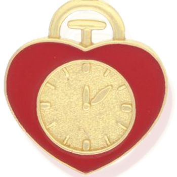 Charm Bracelets: Yellow Gold-Tone Angelica The Wizard of Oz Heart Badge Expandable Bangle