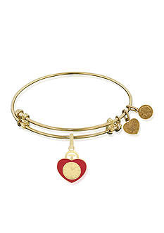 Angelica The Wizard of Oz™ Heart Badge Expandable Bangle