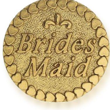 Charm Bracelets: Yellow Gold-Tone Angelica Bridesmaid Expandable Bangle