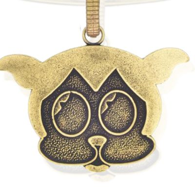 Charm Bracelets: Yellow Gold-Tone Angelica Betty Boop Bimbo Expandable Bangle