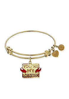 Angelica You're My Lobster Expandable Bangle