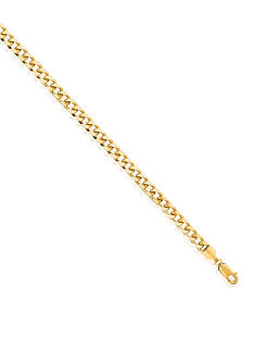 Belk & Co. 14k Yellow Gold Miami Cuban Bracelet