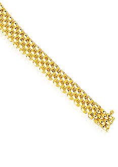 Belk & Co. 14k Yellow Gold Panther Necklace