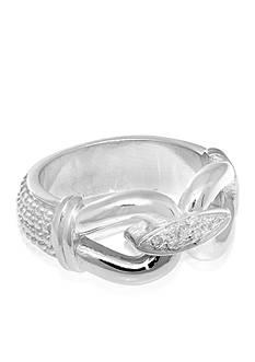 Phillip Gavriel® Diamond Popcorn Ring in Sterling Silver