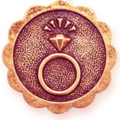 Charm Bracelets: Rose Gold-Tone Angelica Engaged Expandable Bangle