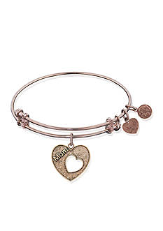 Angelica Mom Heart Expandable Bangle