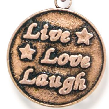 Fine Bangles: Rose Gold-Tone Angelica Live Love Laugh Expandable Bangle
