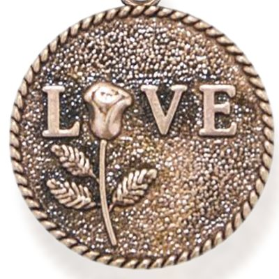 Charm Bracelets: Rose Gold-Tone Angelica Love Expandable Bangle