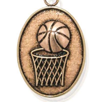 Charm Bracelets: Rose Gold-Tone Angelica Basketball Expandable Bangle
