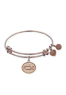 Angelica Christian Fish Expandable Bangle