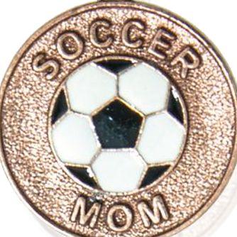 Charm Bracelets: Rose Gold-Tone Angelica Soccer Mom Expandable Bangle