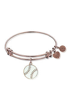 Angelica Baseball Expandable Bangle