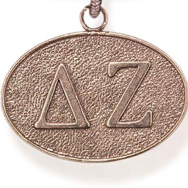 Charm Bracelets: Rose Gold-Tone Angelica Delta Zeta Expandable Bangle