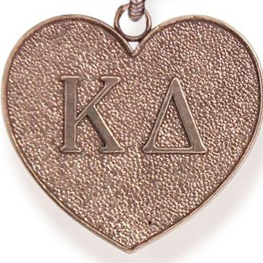 Charm Bracelets: Rose Gold-Tone Angelica Kappa Delta Expandable Bangle