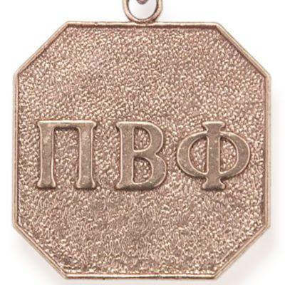 Charm Bracelets: Rose Gold-Tone Angelica Phi Beta Phi Expandable Bangle