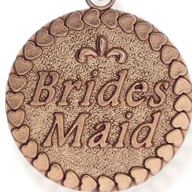 Charm Bracelets: Rose Gold-Tone Angelica Bridesmaid Expandable Bangle
