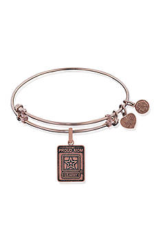 Angelica Proud Army Mom Expandable Bangle