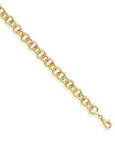 Belk & Co. 14k Yellow Gold Link Bracelet