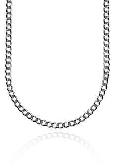 Belk & Co. 14k White Gold Curb Necklace