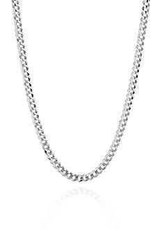 Belk & Co. 14k White Gold Curb Link Necklace
