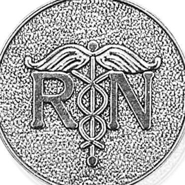 Charm Bracelets: Silver-Tone Angelica Registered Nurse Expandable Bangle