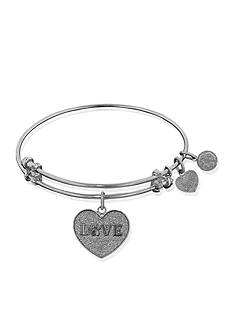 Angelica Love Paw Print Expandable Bangle