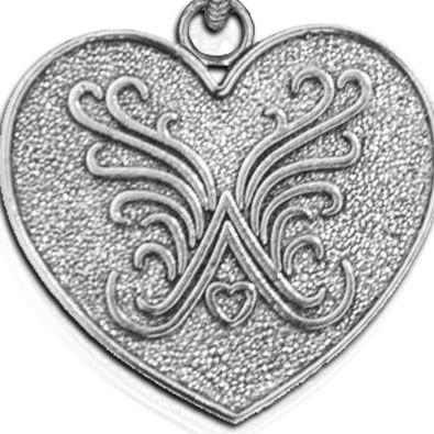 Charm Bracelets: Silver-Tone Angelica Brand Logo Expandable Bangle
