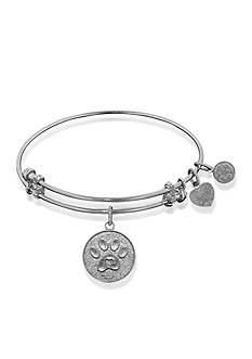 Angelica Paw Print Expandable Bangle