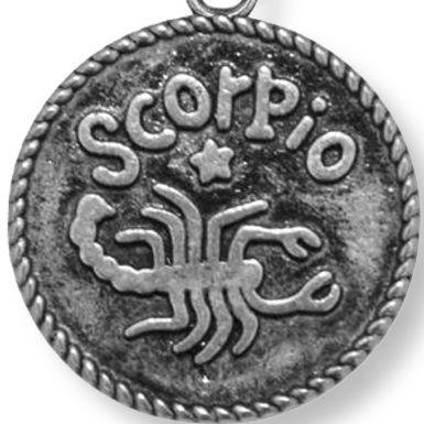Charm Bracelets: Silver-Tone Angelica Scorpio Expandable Bangle