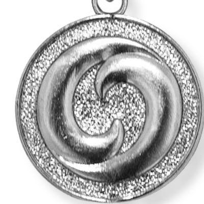 Charm Bracelets: Silver-Tone Angelica Yin Yang Expandable Bangle