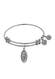 Angelica Cross Expandable Bangle
