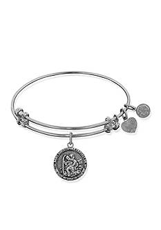 Angelica Saint Christopher Expandable Bangle