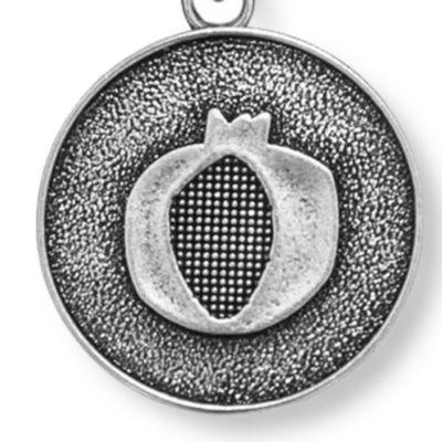 Charm Bracelets: Silver-Tone Angelica Pomegranate Expandable Bangle