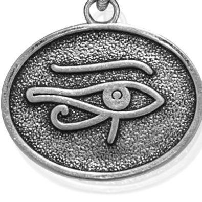 Charm Bracelets: Silver-Tone Angelica Eye of Horus Expandable Bangle
