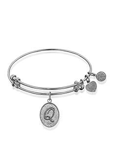 Angelica Q Initial Expandable Bangle