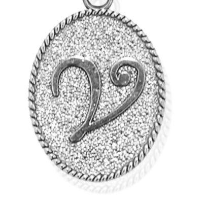 Charm Bracelets: Silver-Tone Angelica V Initial Expandable Bangle