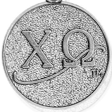 Charm Bracelets: Silver-Tone Angelica Chi Omega Expandable Bangle