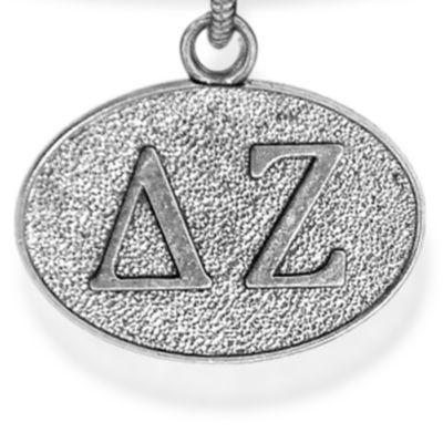 Charm Bracelets: Silver-Tone Angelica Delta Zeta Expandable Bangle