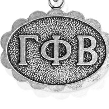 Charm Bracelets: Silver-Tone Angelica Gamma Phi Beta Expandable Bangle