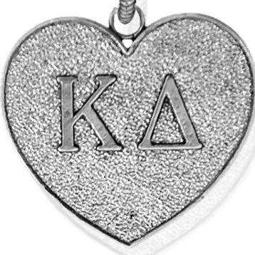 Charm Bracelets: Silver-Tone Angelica Kappa Delta Expandable Bangle