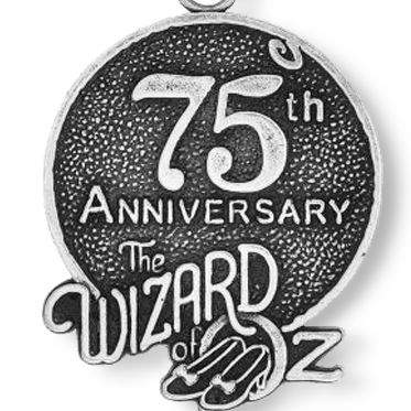 Charm Bracelets: Silver-Tone Angelica The Wizard of Oz™ 75th Anniversary Expandable Bangle
