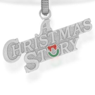 Charm Bracelets: Silver-Tone Angelica A Christmas Story™ Expandable Bangle