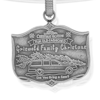 Charm Bracelets: Silver-Tone Angelica National Lampoon's Christmas Vacation Griswold Family Christmas Expandable Bangle