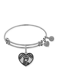 Angelica USMC Proud Wife Expandable Bangle