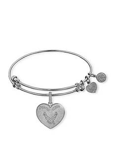 Angelica Air Force Proud Wife Expandable Bangle
