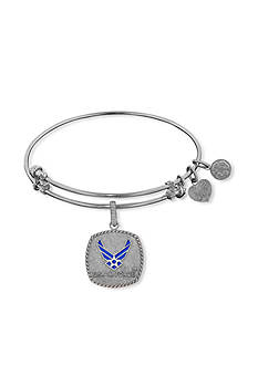 Angelica U.S. Air Force™ Blue Icon Expandable Bangle