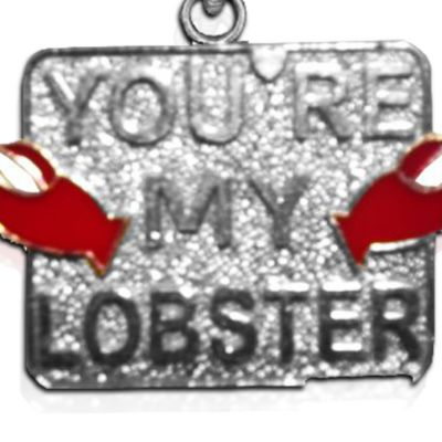 Charm Bracelets: Silver-Tone Angelica You're My Lobster Expandable Bangle